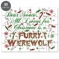 Dear Santa Furry Werewolf Puzzle