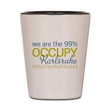 Occupy Karlsruhe Shot Glass