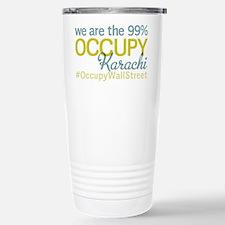 Occupy Karachi Stainless Steel Travel Mug