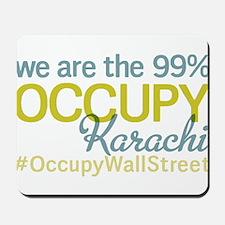 Occupy Karachi Mousepad