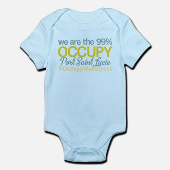 Occupy Port Saint Lucie Infant Bodysuit