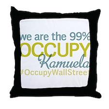 Occupy Kamuela Throw Pillow