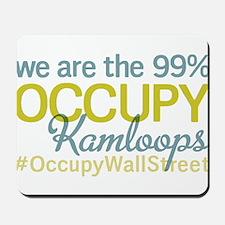 Occupy Kamloops Mousepad