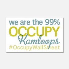 Occupy Kamloops Car Magnet 20 x 12