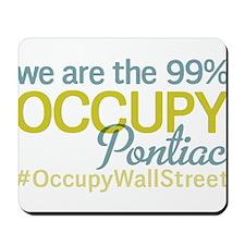 Occupy Pontiac Mousepad