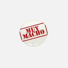 Muy Macho Mini Button