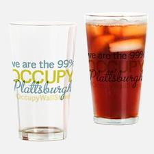 Occupy Plattsburgh Drinking Glass