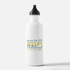Occupy Plattsburgh Water Bottle