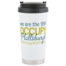 Occupy Plattsburgh Travel Mug