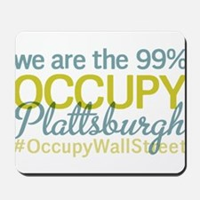 Occupy Plattsburgh Mousepad