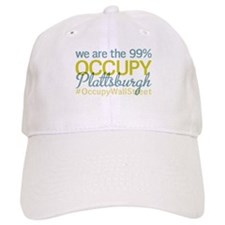 Occupy Plattsburgh Baseball Baseball Cap