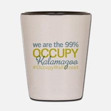 Occupy Kalamazoo Shot Glass