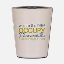 Occupy Phoenixville Shot Glass