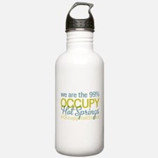 Occupy Hot Springs National P Water Bottle