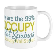 Occupy Hot Springs National P Small Small Mug