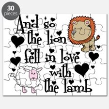 Lion fell in love with lamb Puzzle