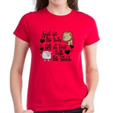 Lion fell in love with lamb Tee