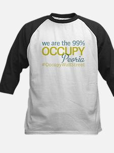 Occupy Peoria Kids Baseball Jersey