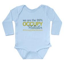 Occupy Hollister Long Sleeve Infant Bodysuit