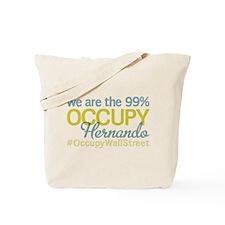 Occupy Hernando Tote Bag