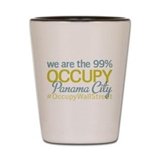 Occupy Panama City Shot Glass