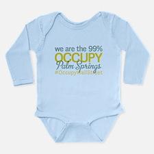 Occupy Palm Springs Long Sleeve Infant Bodysuit