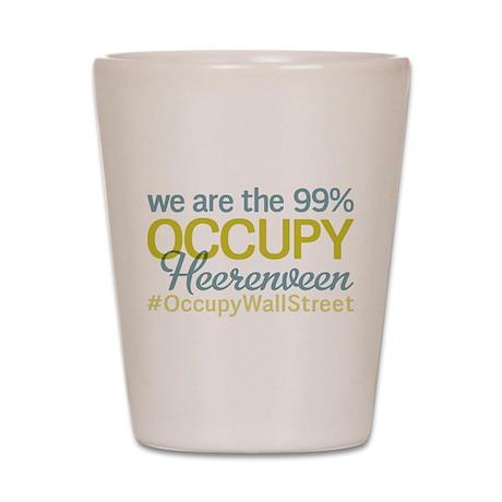 Occupy Heerenveen Shot Glass
