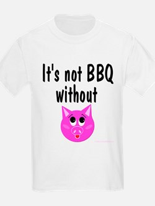Pork BBQ Kids T-Shirt
