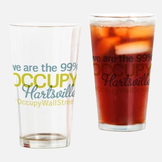Occupy Hartsville Drinking Glass