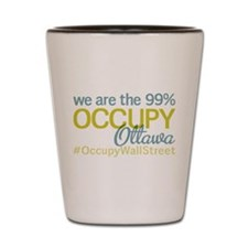 Occupy Ottawa Shot Glass