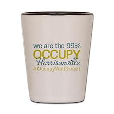 Occupy Harrisonville Shot Glass