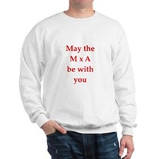 funny physics joke Sweatshirt