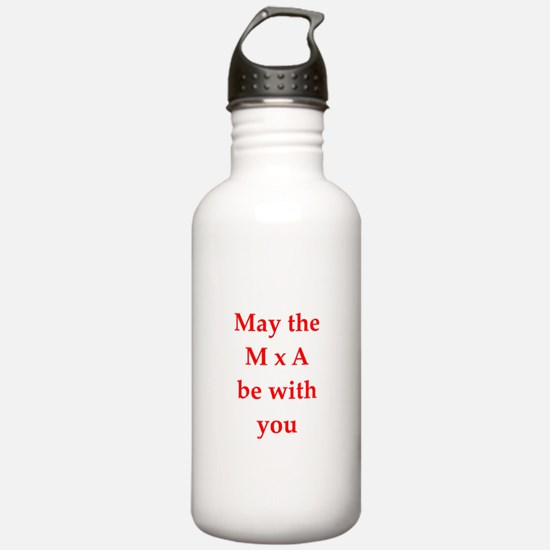 funny physics joke Water Bottle