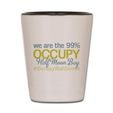 Occupy Half Moon Bay Shot Glass