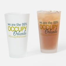 Occupy Orlando Drinking Glass