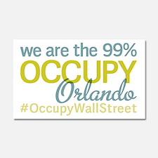 Occupy Orlando Car Magnet 20 x 12