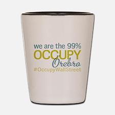 Occupy Orebro Shot Glass