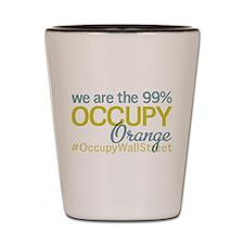 Occupy Orange Shot Glass