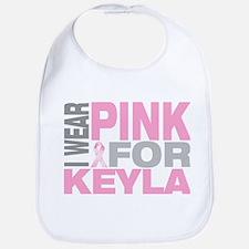 I wear pink for Keyla Bib