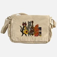 Jazz Cats Messenger Bag