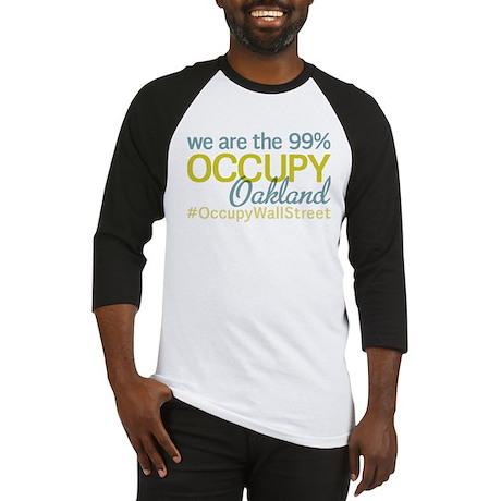 Occupy Oakland Baseball Jersey