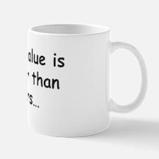 P-value Regular Mug