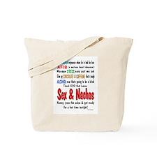 Male Afib Tote Bag