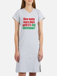 Not Christmas Women's Nightshirt