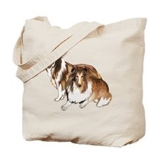 two collies Tote Bag