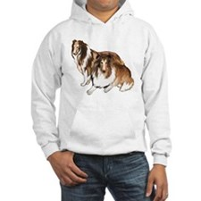 two collies Jumper Hoody