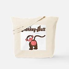 Monkey-Butt Tote Bag