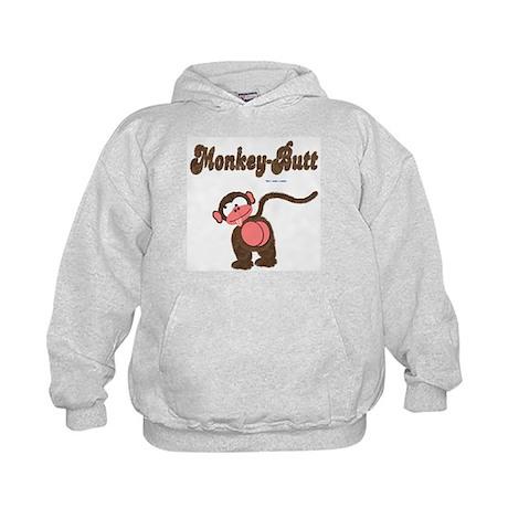 Monkey-Butt Kids Hoodie