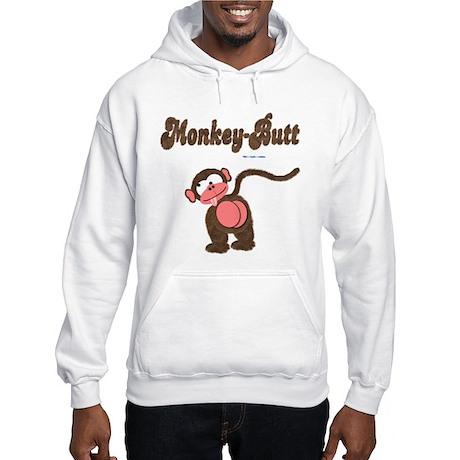 Monkey-Butt Hooded Sweatshirt