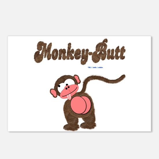 Monkey-Butt Postcards (Package of 8)
